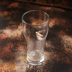 Стакан для пива с пулей «Real bullet», 500 мл, фото 2