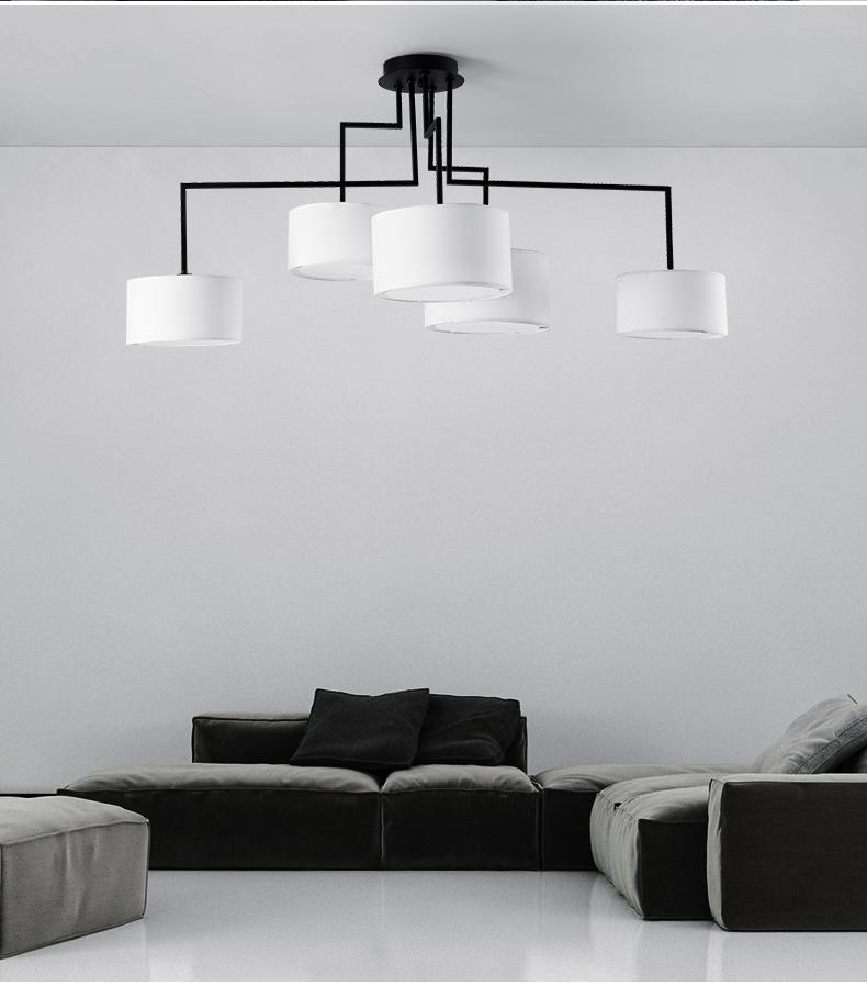 Потолочный светильник копия Noon 5 by Zeitraum (белый)