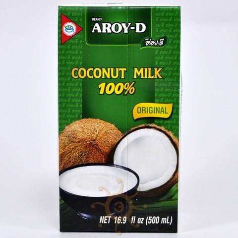 Молоко кокосовое (жирность 17-19%) Aroy-D, 500 мл