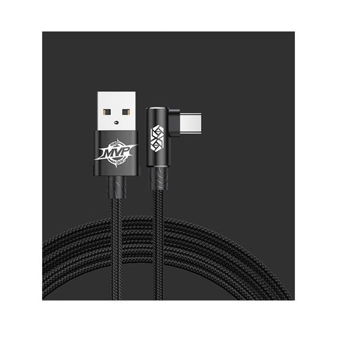 Кабель Baseus MVP Elbow Type Cable USB For Micro 2A 1M Black