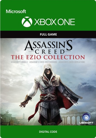 Assassin's Creed: Эцио Аудиторе. Коллекция (Xbox One/Series S/X, цифровой ключ, русская версия)