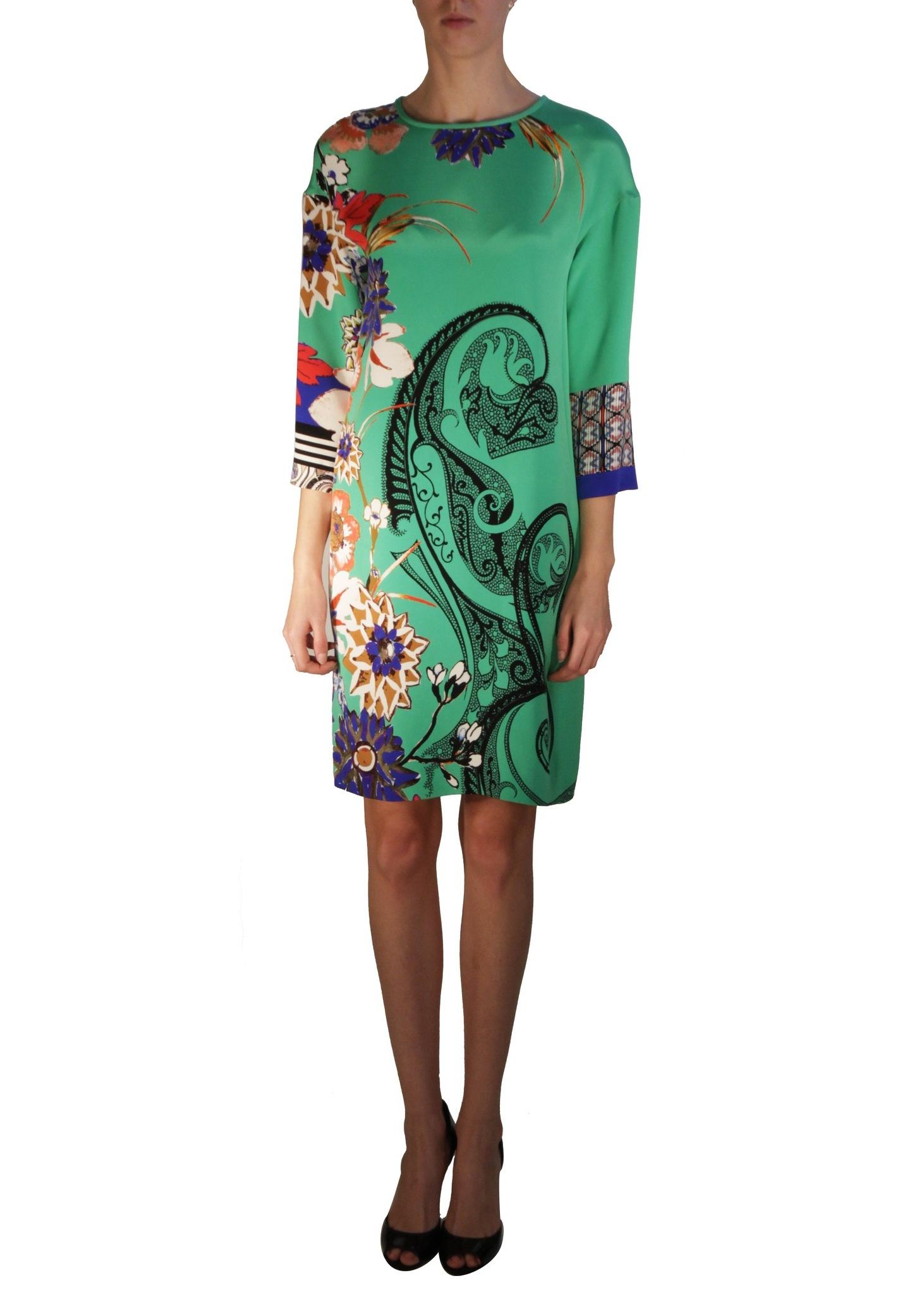Платье шелковое ETRO