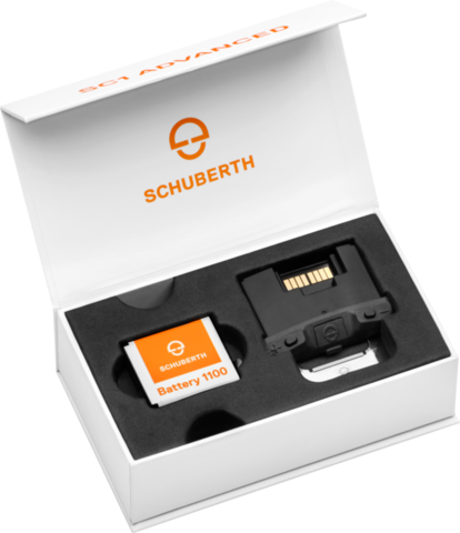 Bliuetooth гарнитура Schubert SC1 Advanced для шлемов Schubert C4 и R2
