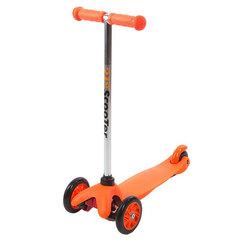 21st Scooter Детский самокат 3-х колёсный (кикборд), оранжевый (SKL-06A-Orange)