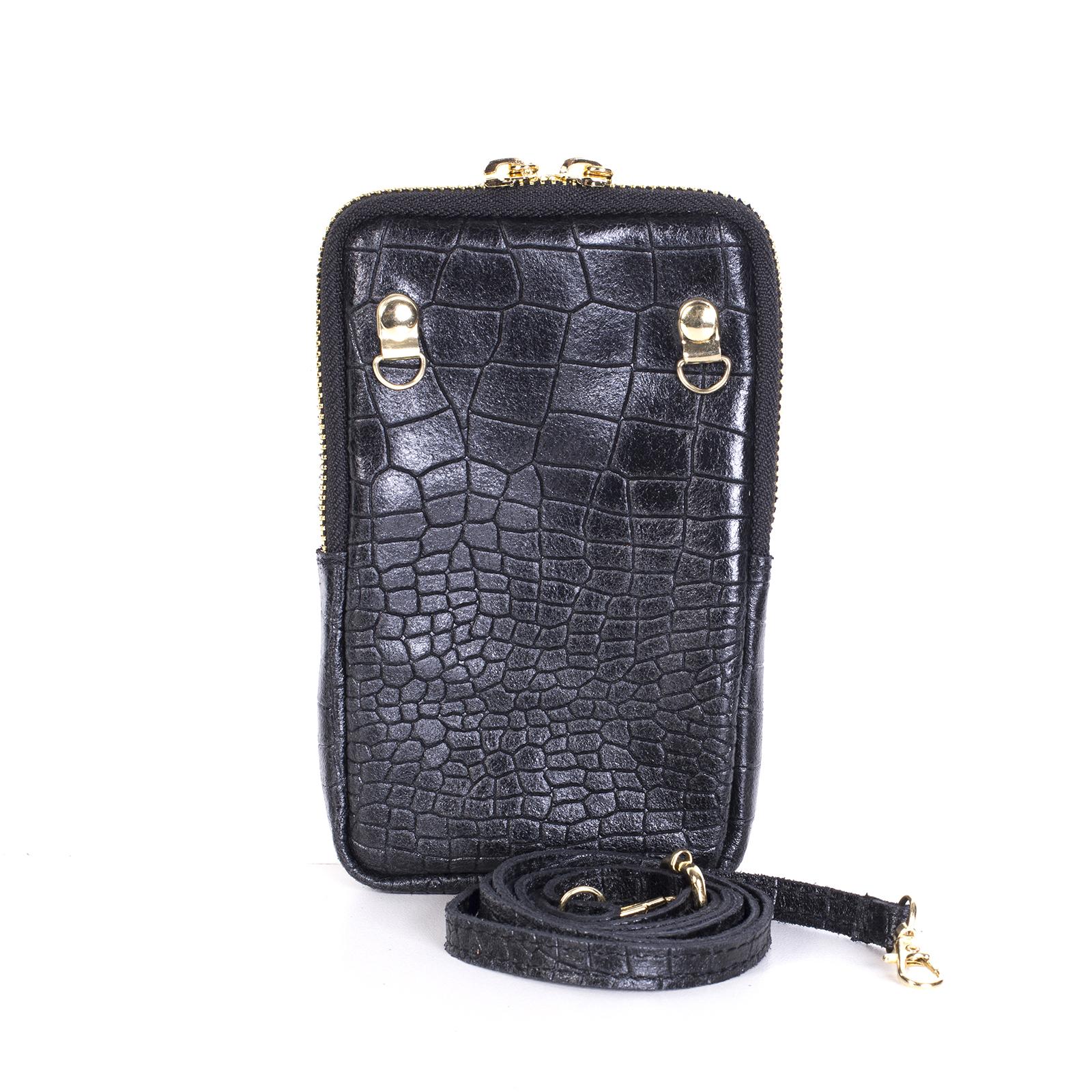 Mini bag, UNO, Abigail (черный)