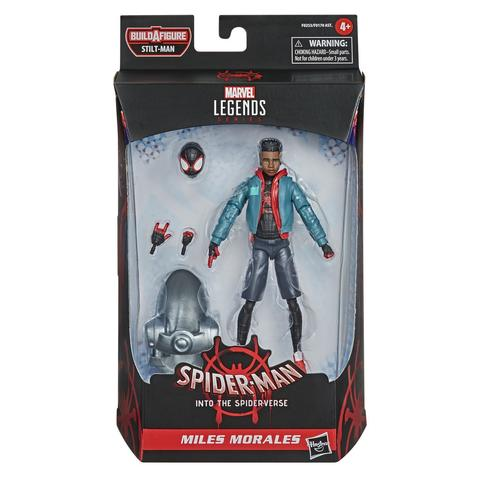 Marvel Legends Series (Into the Spiderverse): Spider-Man Miles Morales