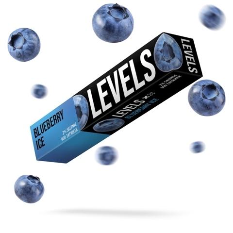 LEVELS (900 затяжек) Blueberry Ice - Черника с Холодком