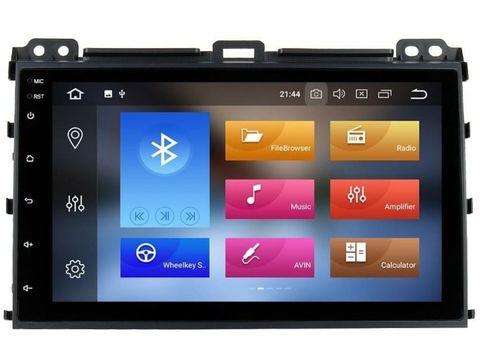 Магнитола Toyota Prado 120/ Lexus GX (02-09) Android 10 4/64GB модель 9A107PX5 DSP