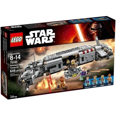 LEGO Star Wars: Военный транспорт Сопротивления 75140 — Resistance Troop Transporter — Лего стар ворз Звёздные войны