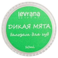 Бальзам для губ Дикая мята, 10g ТМ Levrana