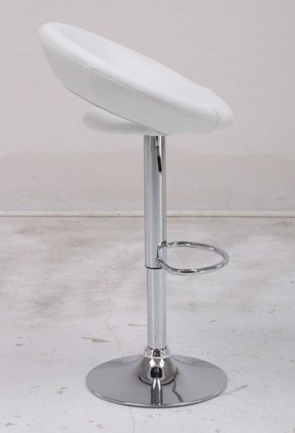 Стул барный BCR-100 White (белый)