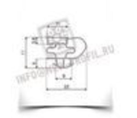 Уплотнитель 94*53 см для холодильника Helkama Lumimies HJK200.Профиль 016