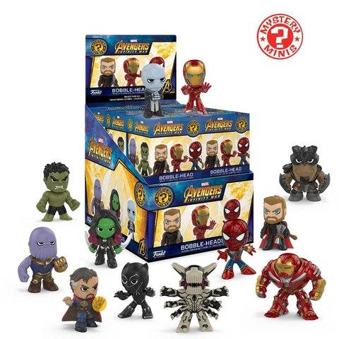 Фигурка Funko Mystery Mini: Avengers Infinity War (1шт.) 26896