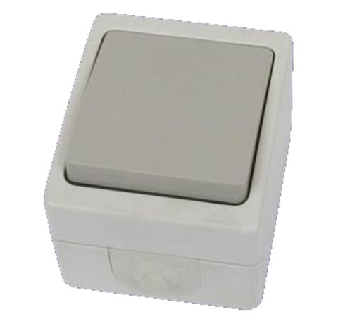 Переключатель на 2 направления 1-кл. открытой установки IP54 10А