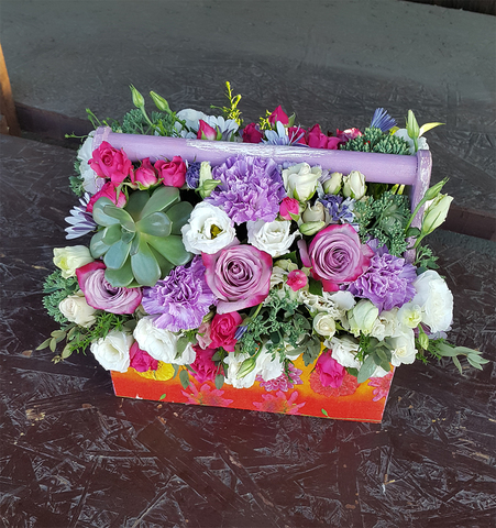 Ящик с цветами Лондон 4
