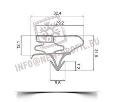 Уплотнительный профиль_003 (тип ЛГ) для холодильного оборудования.