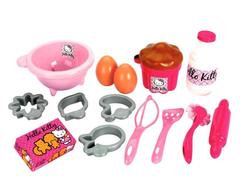 Smoby Набор посудки с продуктами Hello Kitty, 17 предметов (2610)