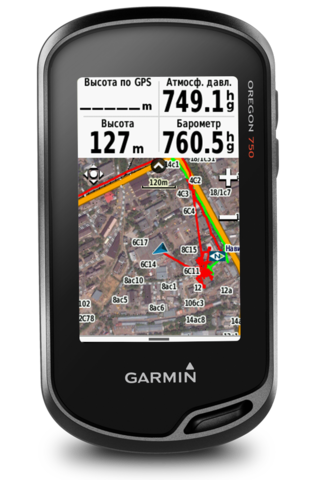 Навигатор Garmin Oregon 750t (010-01672-34)