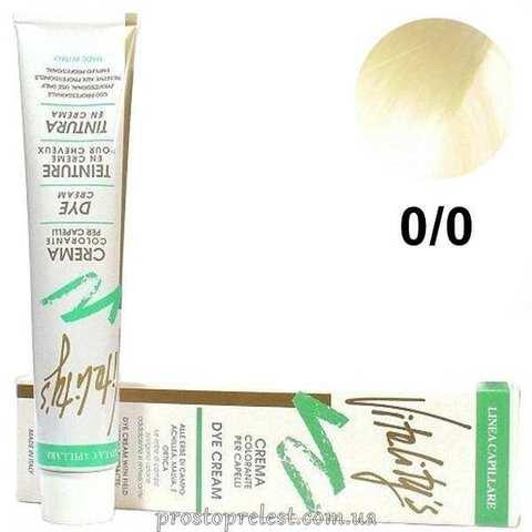 Vitality's Color Cream 100 ml - Стойкая краска для волос с экстрактами трав 100 мл