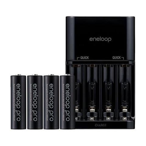 Зарядное устройство Eneloop Pro BC-KJR1WB40 + 4AA 2450 mAh