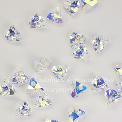 6628 Подвеска Сваровски Треугольник Crystal AB (8 мм)