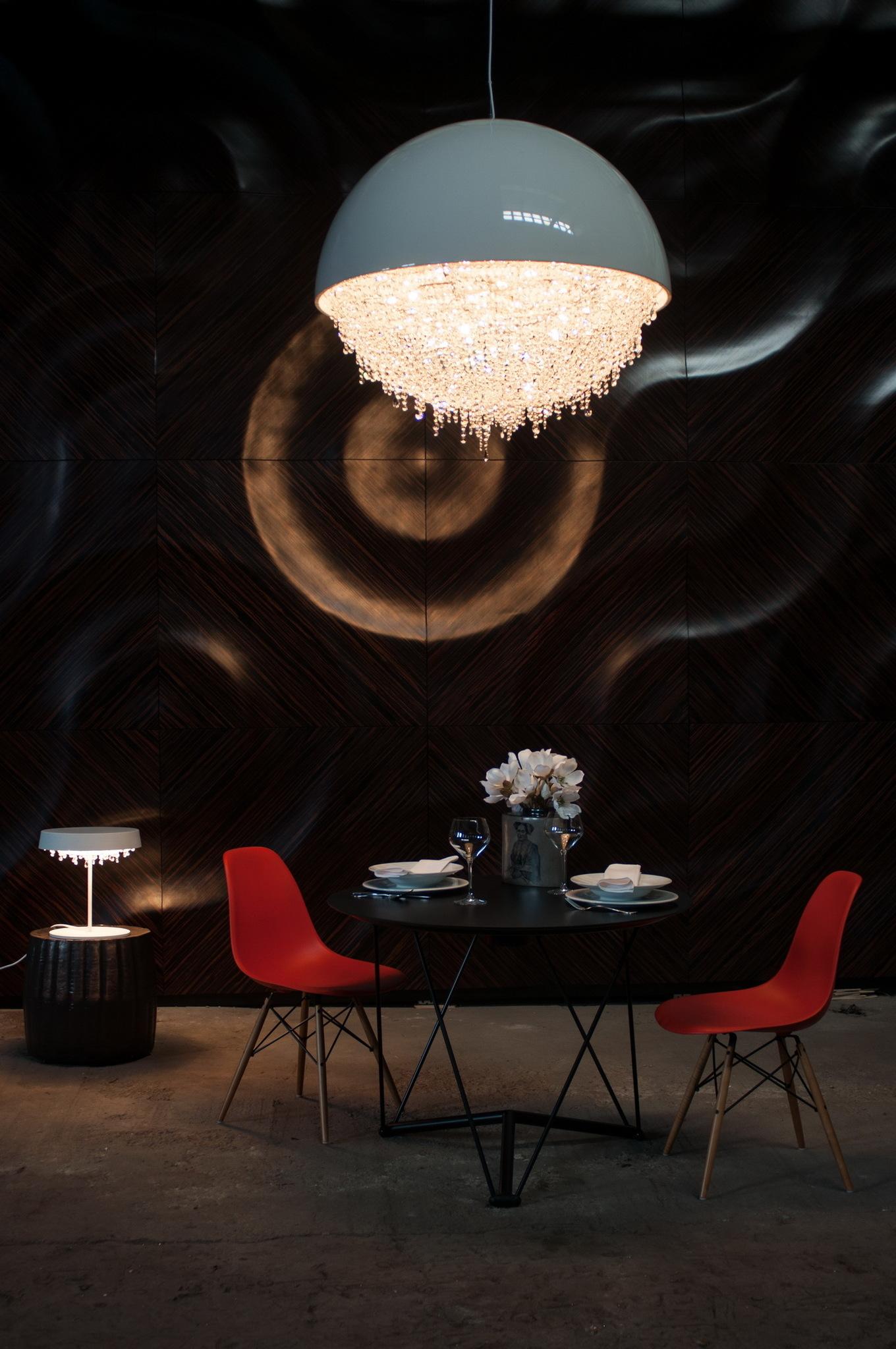 Подвесной светильник Ozero by Manooi D60 (черный)