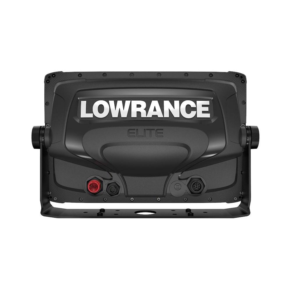 Картплоттер Lowrance Elite-12 Ti2 вид сзади