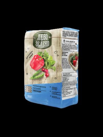Любо-Зелено Брикет овощи 1 кг. удобрение