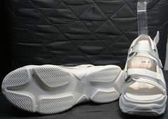 Женские спортивные сандали Small Swan PM23-3 White.