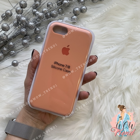 Чехол iPhone 7/8 Silicone Case /flamingo/ фламинго 1:1