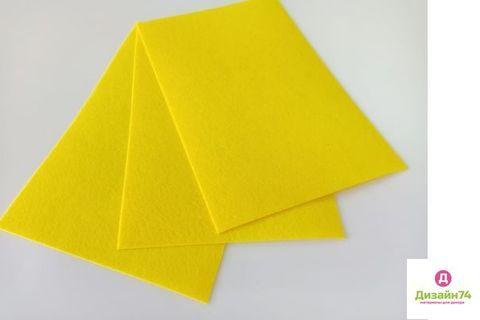 Фетр 20x30, жесткий, толщиной 1 мм Цвет №4