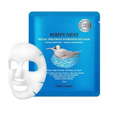 MediFlower Маска интенсивная с экстрактом ласточкиного гнезда Bird's Nest Special Treatment Energizing Mask Pac