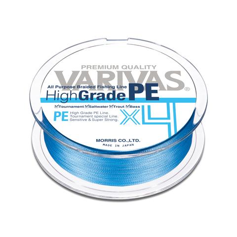 Плетенный шнур VARIVAS HIGH-GRADE PE X4 150M 2 WATER BLUE