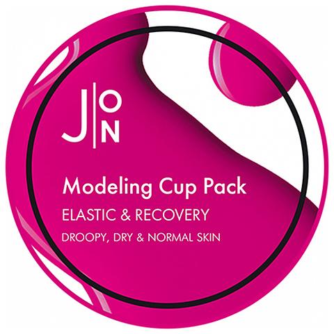Альгинатная маска для лица ЭЛАСТИЧНОСТЬ/ВОССТАНОВЛЕНИЕ Elastic & Recovery Modeling Pack, 18 гр, J:ON