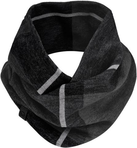 Вязаный шарф-хомут Buff Neckwear Knitted Infinity Charles Black фото 1
