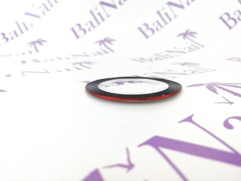 Самоклеящаяся лента для дизайна ногтей (красная)
