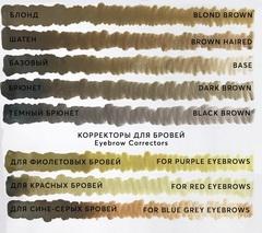 Пигмент для бровей Brown haired (Шатен) от Алины Шаховой