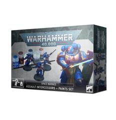 WH40K. Assault Intercessors + Paint Set (2020)