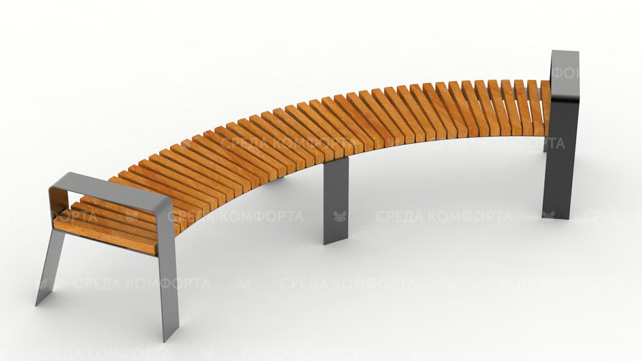 Полукруглая скамейка SCAM0050
