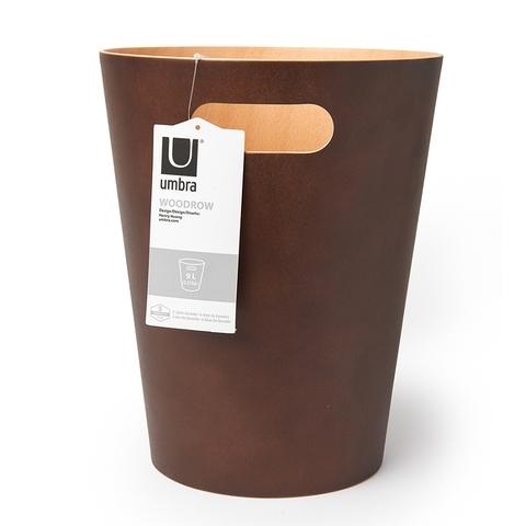 Корзина для мусора Woodrow эспрессо, 9 л