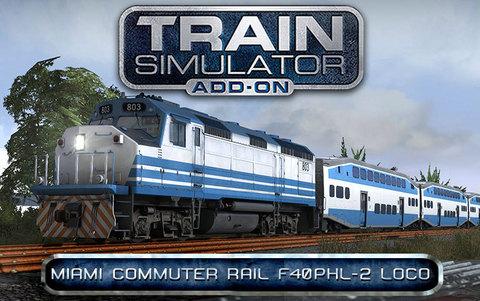 Train Simulator: Miami Commuter Rail F40PHL-2 Loco Add-On (для ПК, цифровой ключ)