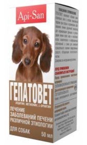 Api-San Hepatovet for dogs 50 ml