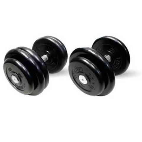 Гантели профессиональные неразборные 21 кг 2 пары.