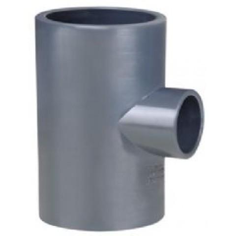 Тройник редукционный диаметр 225-110 ПВХ 1,0МПа Pimtas