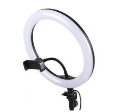 кольцевая светодиодная лампа ring fill light 26 см со штативом купить