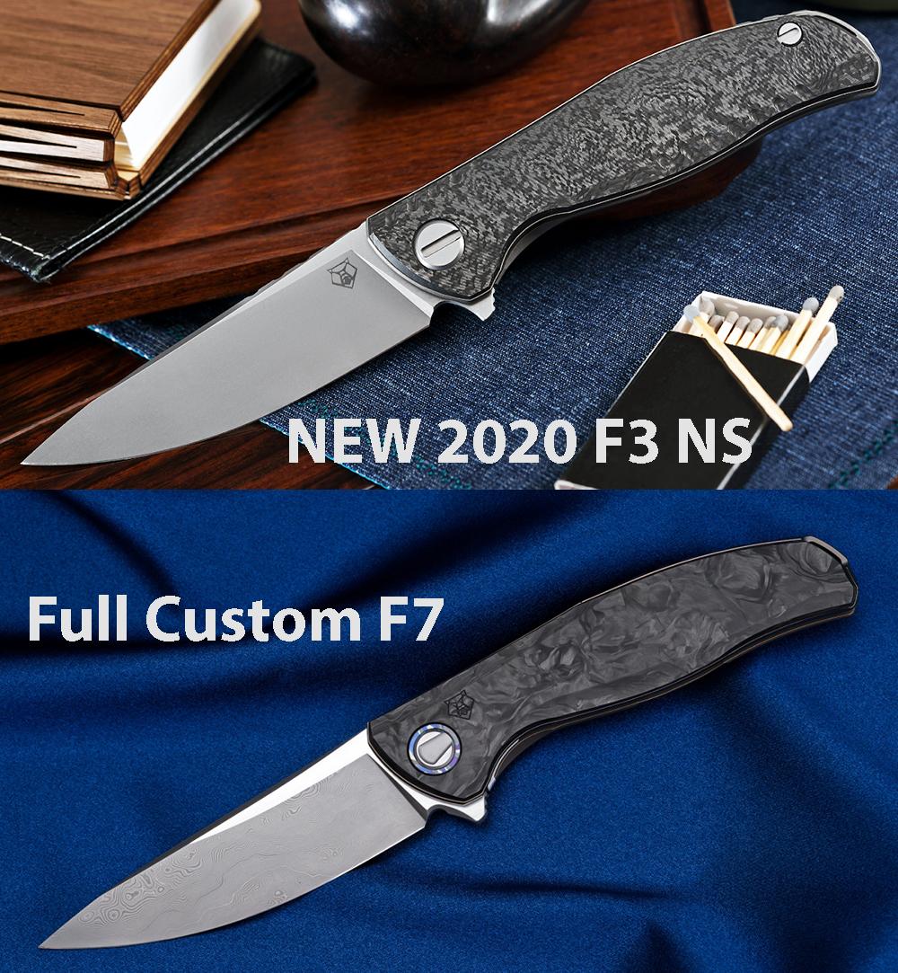 Shirogorov F3 NS 2020 M390 CF 3D - фотография