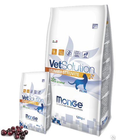 Monge Cat Urinary Struvite 1,5кг.