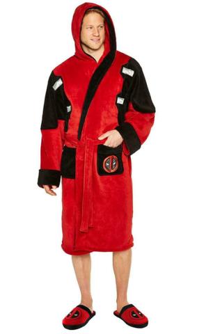 Дэдпул халат с капюшоном