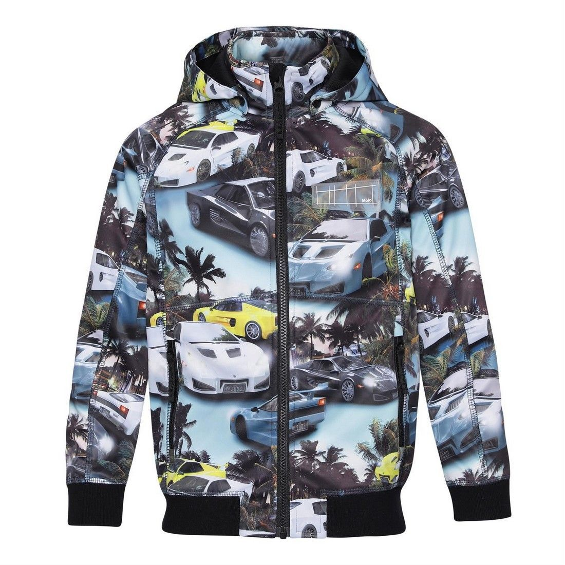 Куртка Molo Cloudy Fast Cars Blue