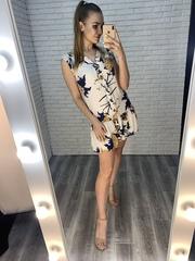 простое летнее платье купить